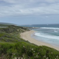 sweeping views along the Cape to Cape Track WA
